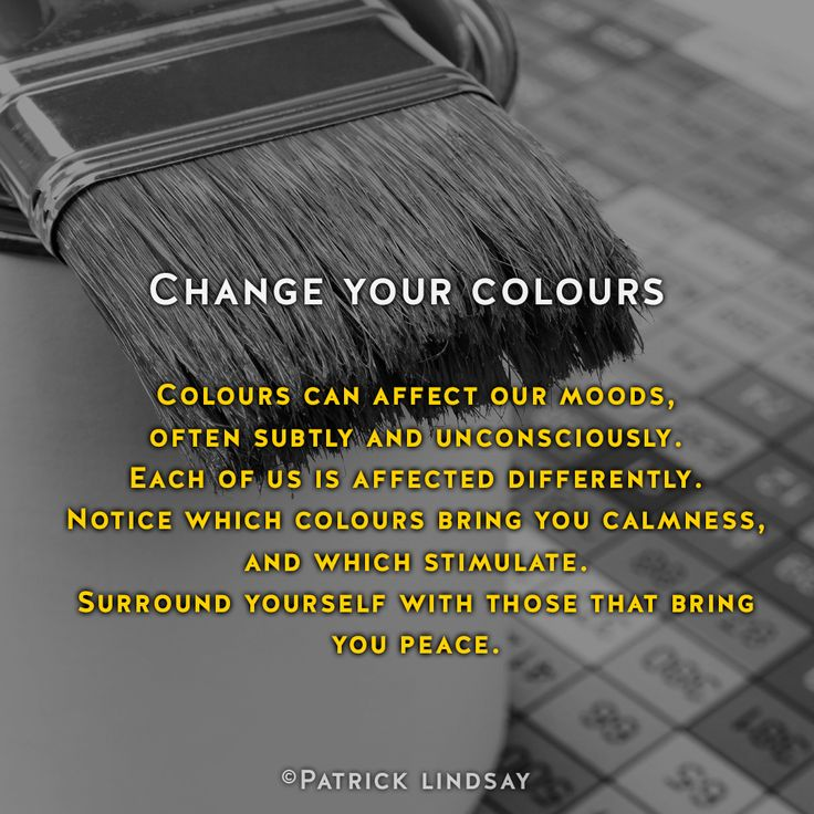 Change your colours #inspiration #highhopes #makethemostofyou High Hopes: http://goo.gl/OMpfvh