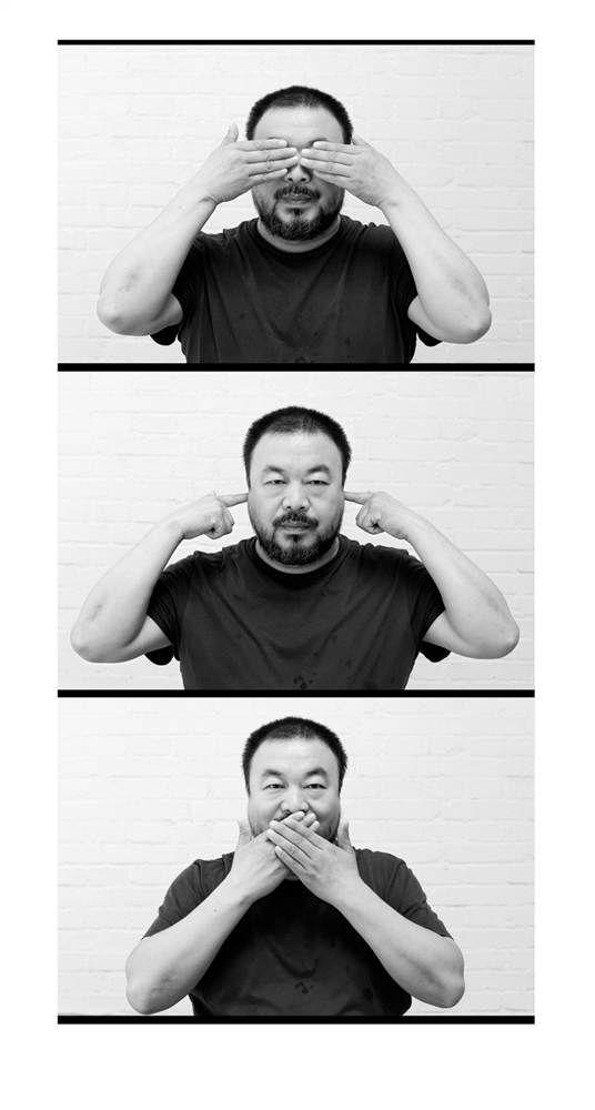 Ai Wei Wei, you incredible man, you.