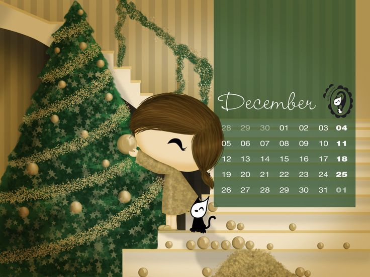 Happy Holidays! ♥ Free wallpaper / printable by Gatofante ♥