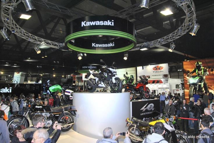 Kawasaki :the past and the present