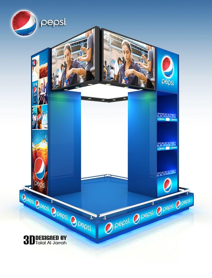 pepsi Display Stand on Behance