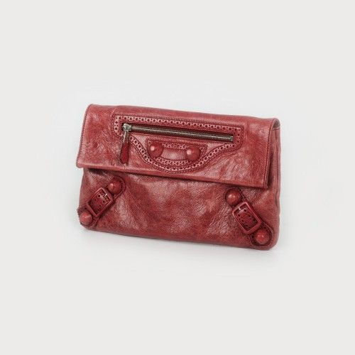 Poșetă plic Balenciaga, din piele piele de miel, 30 x 18 cm Preţ de pornire: € 450