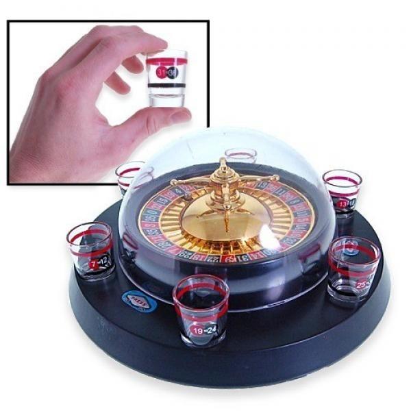 """Empieza a girar la bola por la ruleta y se cierran las últimas apuestas cuando se escucha de parte de la banca: """"¡no va más, señores, la suerte esta echada!"""". Si tu selección de números es la agraciada, podrás pegarte un buen trago con el chupito ganador. Ahora te ofrecemos la posibilidad de comprar Juegos Chupitos Ruleta Electrónica al mejor precio. Sé el primero en amenizar tus fiestas de cumpleaños con este producto innovador que te proporcionará horas de carcajadas... y de resaca. El set…"""