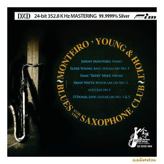 MONTEIRO, YOUNG & HOLT - BLUES FOR THE SAXOPHONE CLUB (2011) ~ x-αδιαιρετου