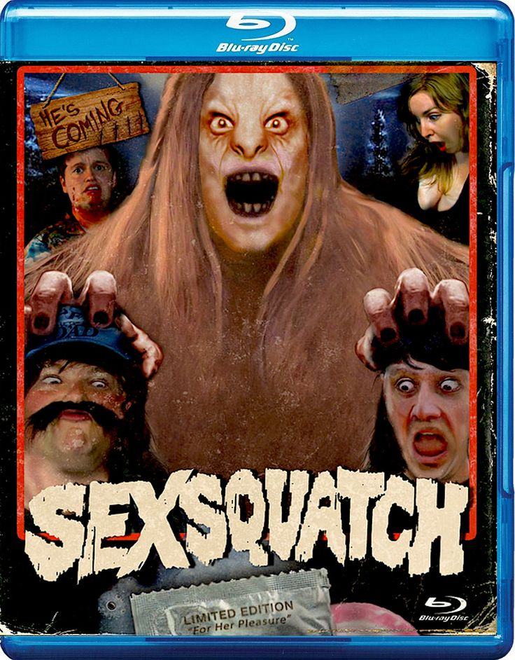 SEXSQUATCH BLURAY (SRS CINEMA) Film art, Horror movies