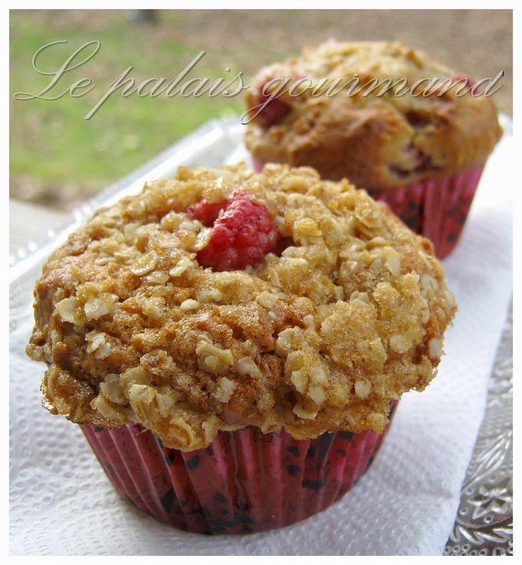 Le palais gourmand: Muffins aux framboises et au citron