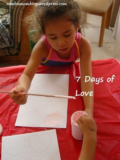 Hanging Hearts #ValentinesDay #craft