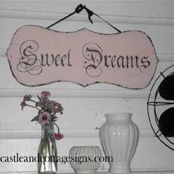 sweet signs from castle and cottage designs...love this one♥