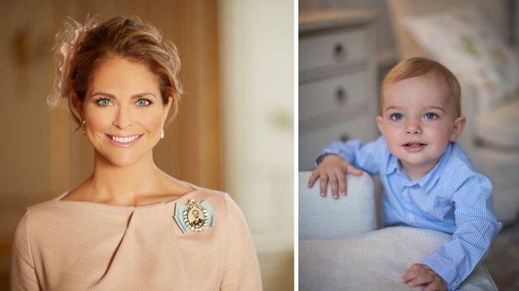 STOLT MAMMA: Onsdag 15. juni markerer ettårsdagen til prins Nicolas av Sverige. Prinsesse Madeline feirer sønnens bursdag med en koselig hilsen i sosiale medier.