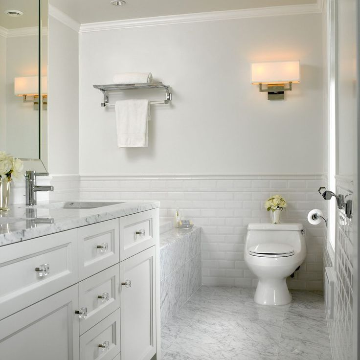 How To Put Up Tiles In A Bathroom: 17 Best Ideas About Subway Tile Bathrooms On Pinterest