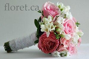 Pretty Pink Bridal Bouquet