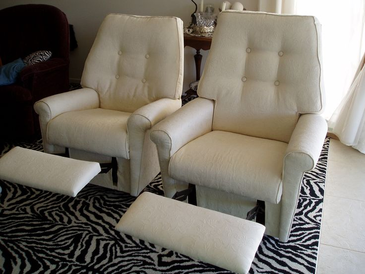 A couple of recliner rockers that I have sold as the colour and pup didn't mix thought I did love the rich cream.