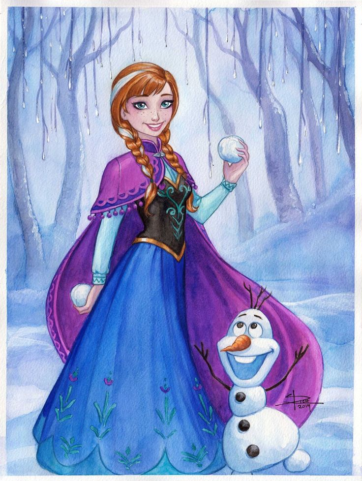 941 best images about frozen on pinterest a mermaid - Frozen anna and olaf ...