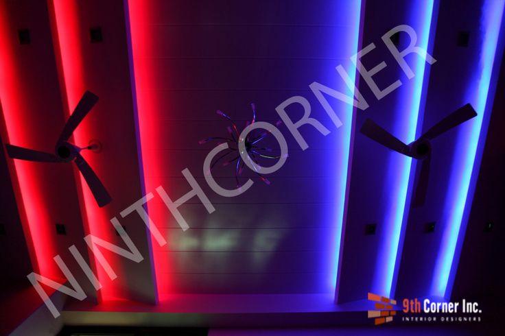 RAINBOW COLORS FALSE CEILING http://www.ninthcorner.com