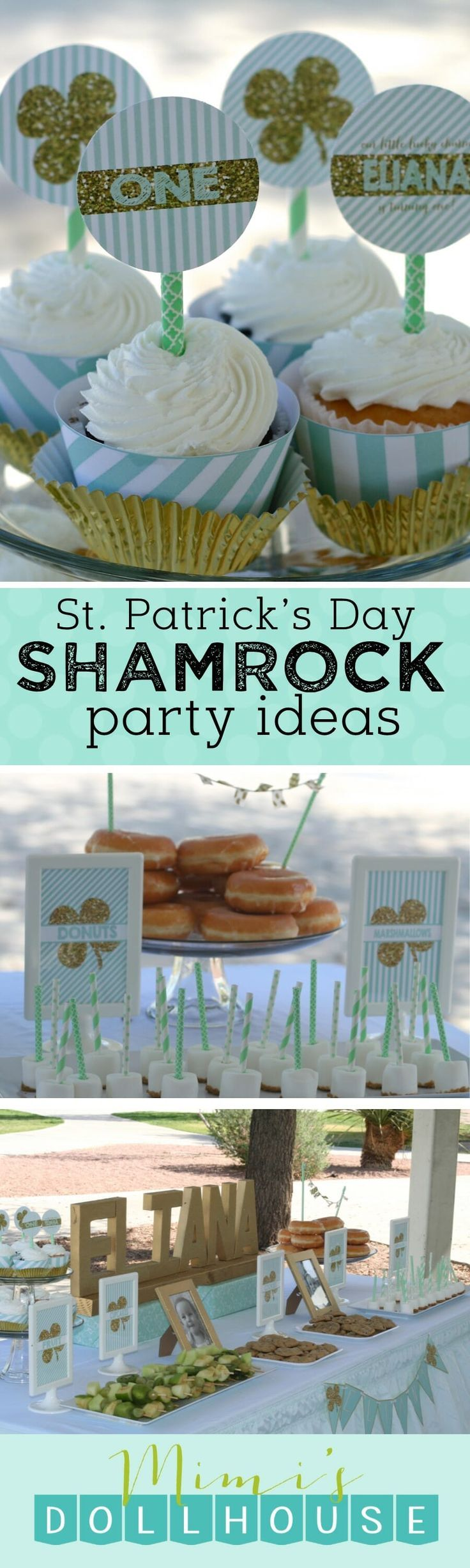 57 best St. Patrick\'s Day Party Ideas images on Pinterest | Crafts ...
