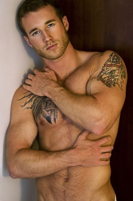 Muscle stamps. Tattoos, body art.
