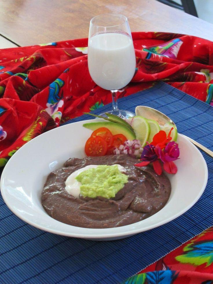 Black bean soup photo