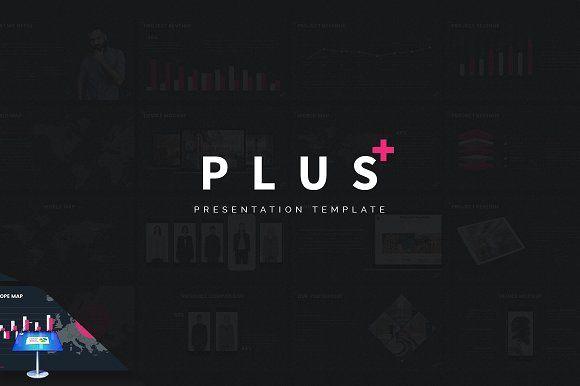 PLUS - Keynote Template by inspirasign on @creativemarket