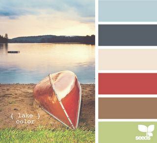 lake color design