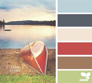lake color design