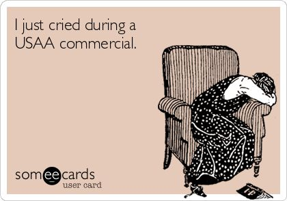 SO true.  @USAA does it to me every time - MilitaryAvenue.com #MilSpouseProblems