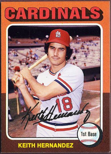 1975 Topps Keith Hernandez N Y Mets Baseball Cardinals