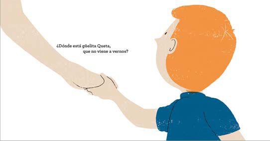 Ilustración de Alex Omist. Cuentos: ¿Dónde está güelita Queta?