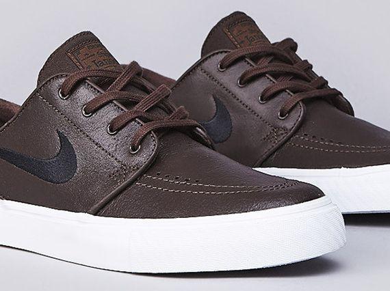 Nike SB Stefan Janoski Leather - Baroque Brown - Black