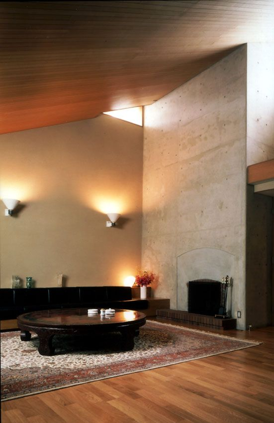 Japanese Modern house, Ima(living room)現代的な日本家屋 居間・リビングルーム