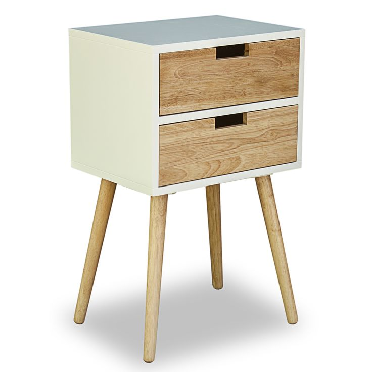 Home Loft Concept Nachttisch Retamosa mit 2 Schubladen