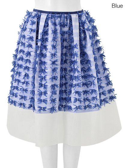 Chesty e-boutique : Ribbon Fringe Skirt