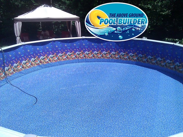 The Aquarium Pool Liner Can T Figure Out Why This One Is