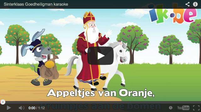 Sinterklaasliedjes - Sinterklaas Goedheiligman (karaokeliedje)