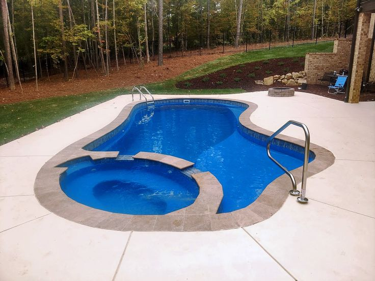 "Can you imagine yourself with your own Imagine Pools ""Majestic"" fiberglass swimming pool next year?  Let's make it happen!"