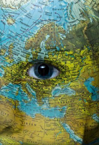 I've been everywhere, man: Man Travel, Favorite Places, Eyes Doors, World Maps, Earth Eye, Map, Ive, Eye Art