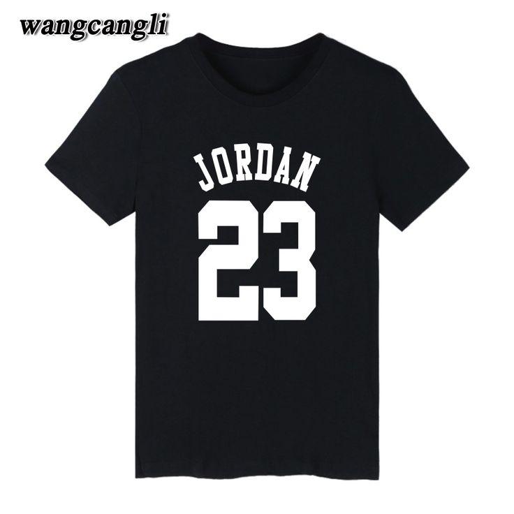 23 jordan t shirt 2017 Fashion Printed 70% Cotton short sleeve couple t shirt design jordan men's clothing O-Neck XS-4XL T-Shirt