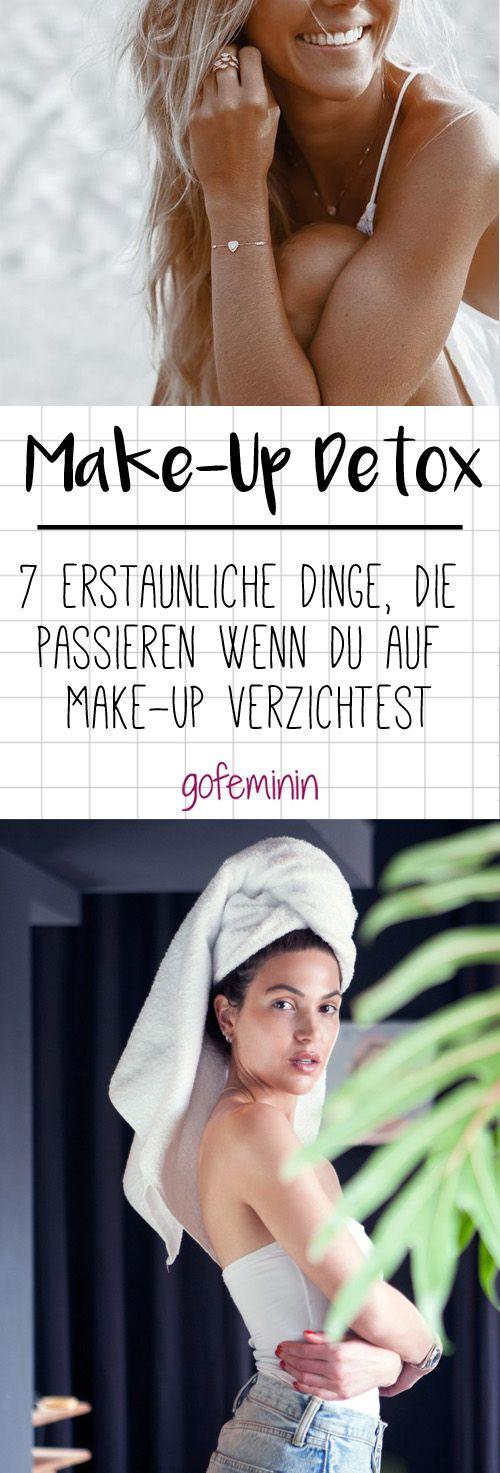 Make-Up Detox: 7 erstaunliche Dinge, die passieren wenn du auf Make-Up verzichtest