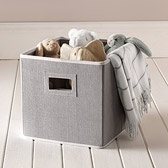 Buy Childrens Bedroom > Childrens Bedroom Accessories > Grey Cube Storage from The White Company