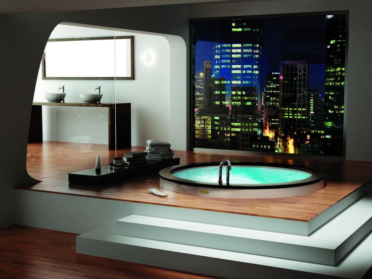 Website Picture Gallery Luxury Round Jacuzzi Design