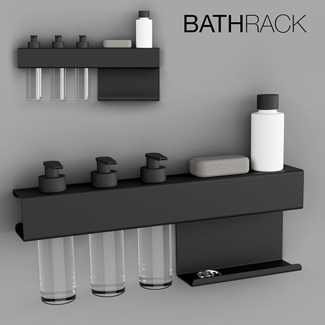 • N E W  D E S I G N • We all know it... A ton of bottles laying on the floor in the shower. No way to store them properly! Today we made the solution - a rack that keeps track of all your shampoo, balsam, creme etc. Keyword is multifunction. It also got a build in shelf for all your accessories, jewelry etc. It's not only perfect for the shower, but also for the bathroom in general. Store your daily lotions and much more... What do you think?  ———————————————— #newin #newdesign #bathroom…