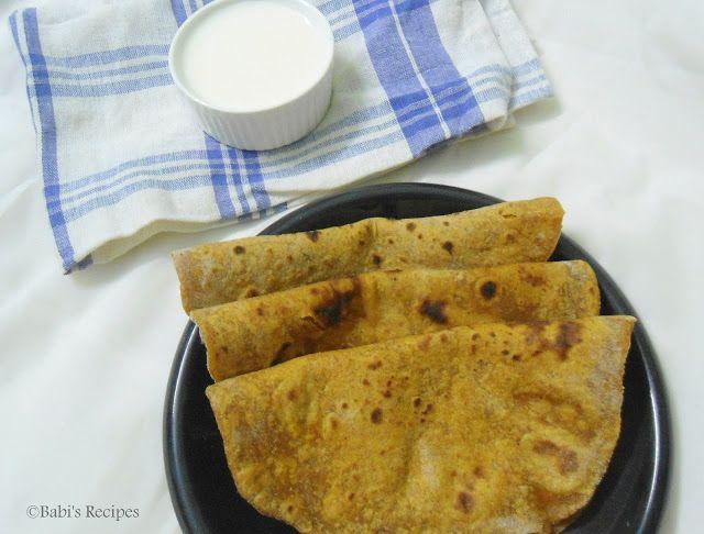Babi 's Recipes: Pumpkin Paratha | Paratha Recipe