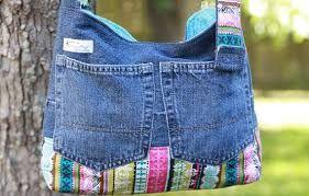 Resultado de imagen para bolsos grandes de jeans
