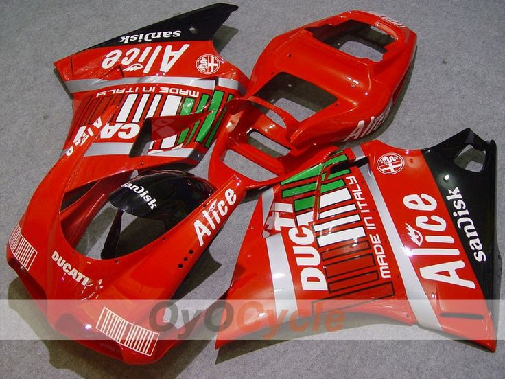 Injection Fairing kit for 02-04 Ducati 998 - SKU: OYO87902260 - Price: US $599.99. Buy now at http://www.oyocycle.com/oyo87902260.html