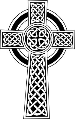 celtic cross. Fertility. male cross, female circle. Also to represent union of heaven and earth.