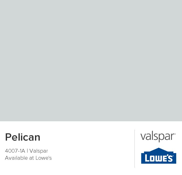 Pelican from Valspar. This is the color of the two other bedrooms