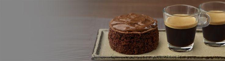 Nespresso Recipe – Chocolate coffee cake