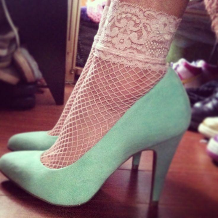 Bbw teen krystal in ankle socks