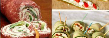 8 Heerlijke frisse en gezonde opgerolde snacks om zelf uit te proberen!