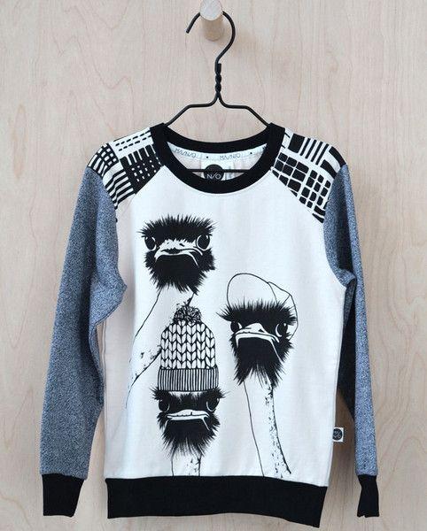 Mainio Clothing: Emu sweatshirt