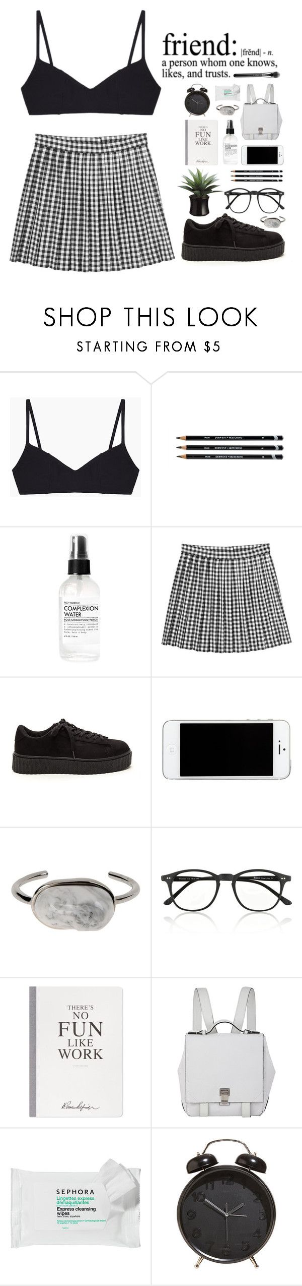 """""""-he doesn't give a damn about me-"""" by unicorns-in-cloud9 ❤ liked on Polyvore featuring Araks, Fig+Yarrow, Monki, Balenciaga, Illesteva, Selfridges, Proenza Schouler, Sephora Collection and MAC Cosmetics"""
